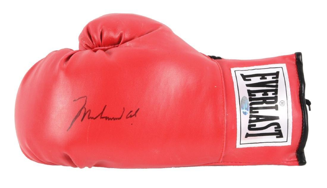 Muhammad Ali Signed Glove.