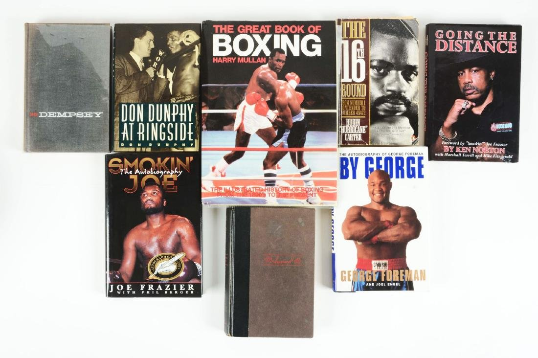 Lot of 7: Various Boxing Books.