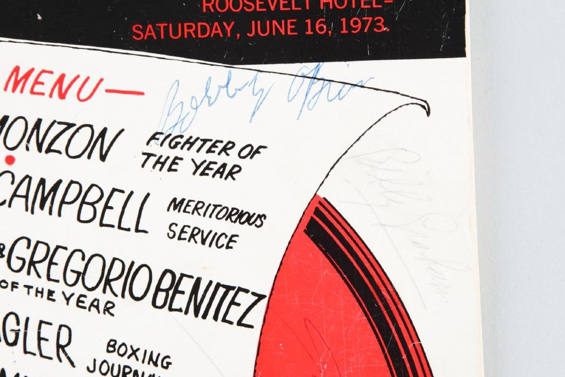 Jack Dempsey, Muhammad Ali & Others Signed 1973 Boxing - 3