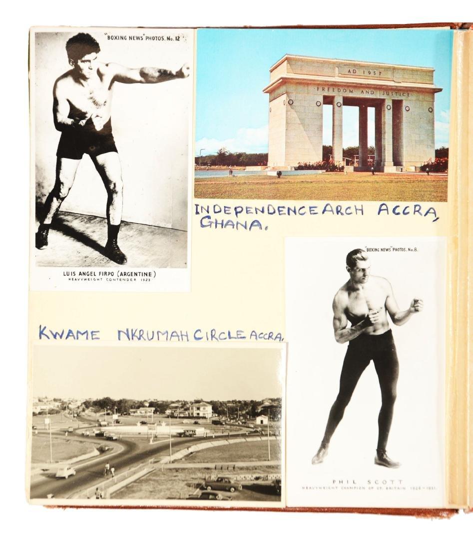 Archie Moore Photo Album.