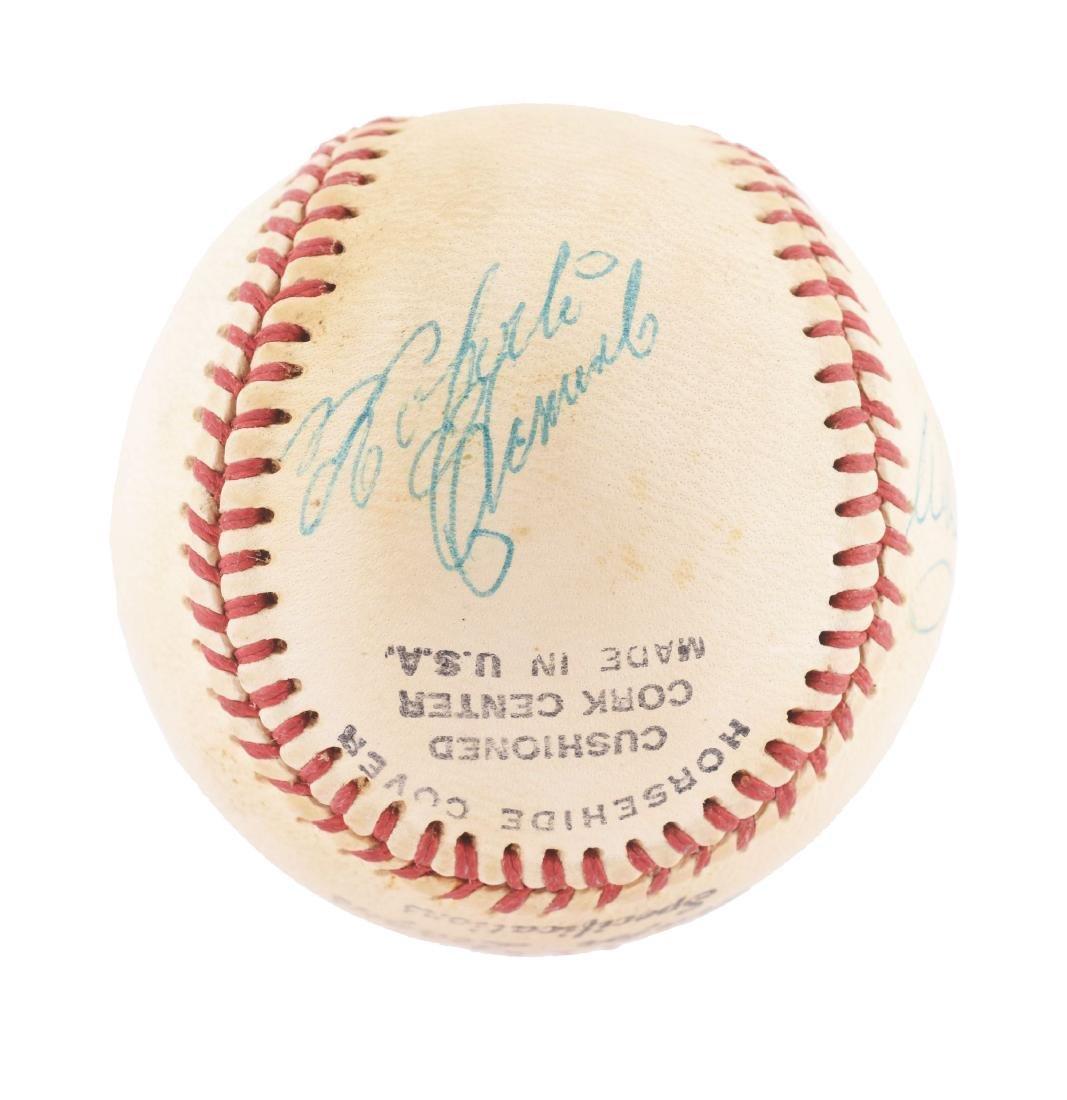 Vintage Roberto Clemente Signed Baseball.