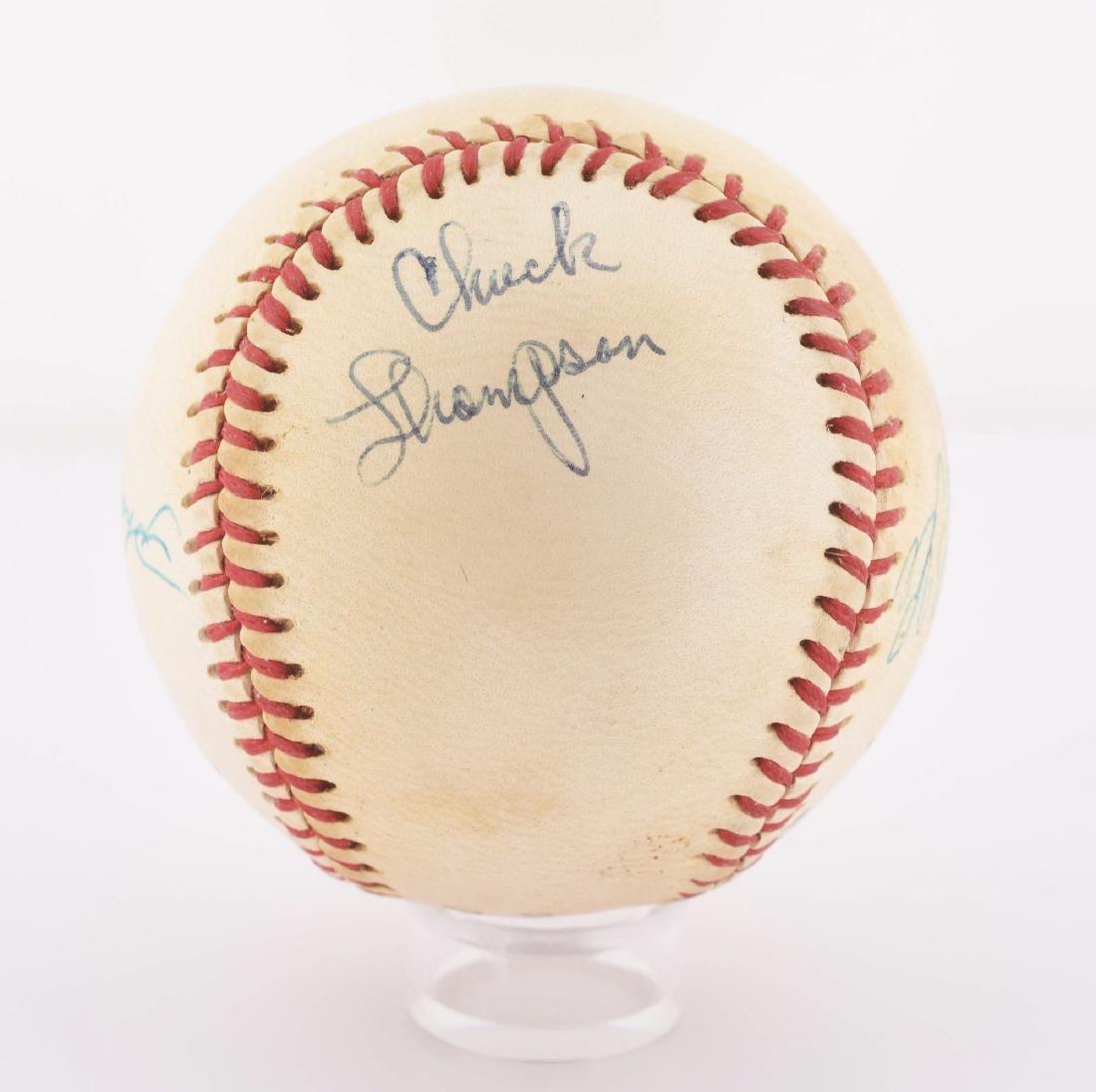 Vintage Roberto Clemente Signed Baseball. - 4