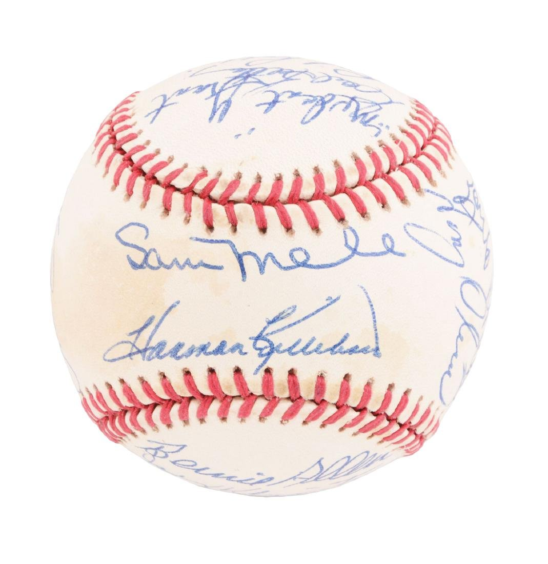 1964 Minnesota Twins Reunion Signed Baseball.