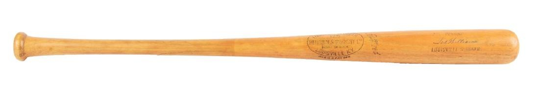 Ted Williams Professional Model Baseball Bat.
