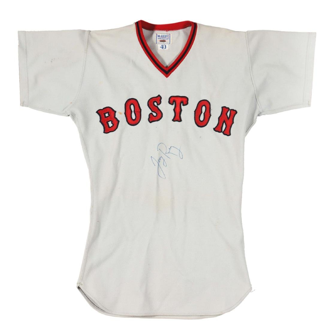 1978 Jerry Remy Game Used Red Sox Road Jersey.