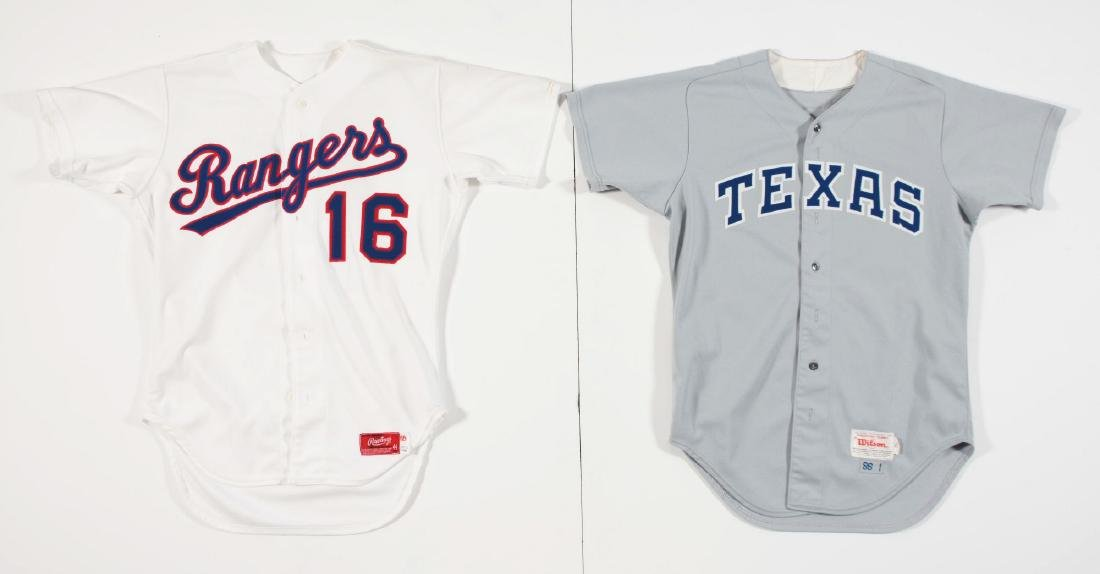Lot of 4: Game Used Baseball Jerseys Including Braves, - 2
