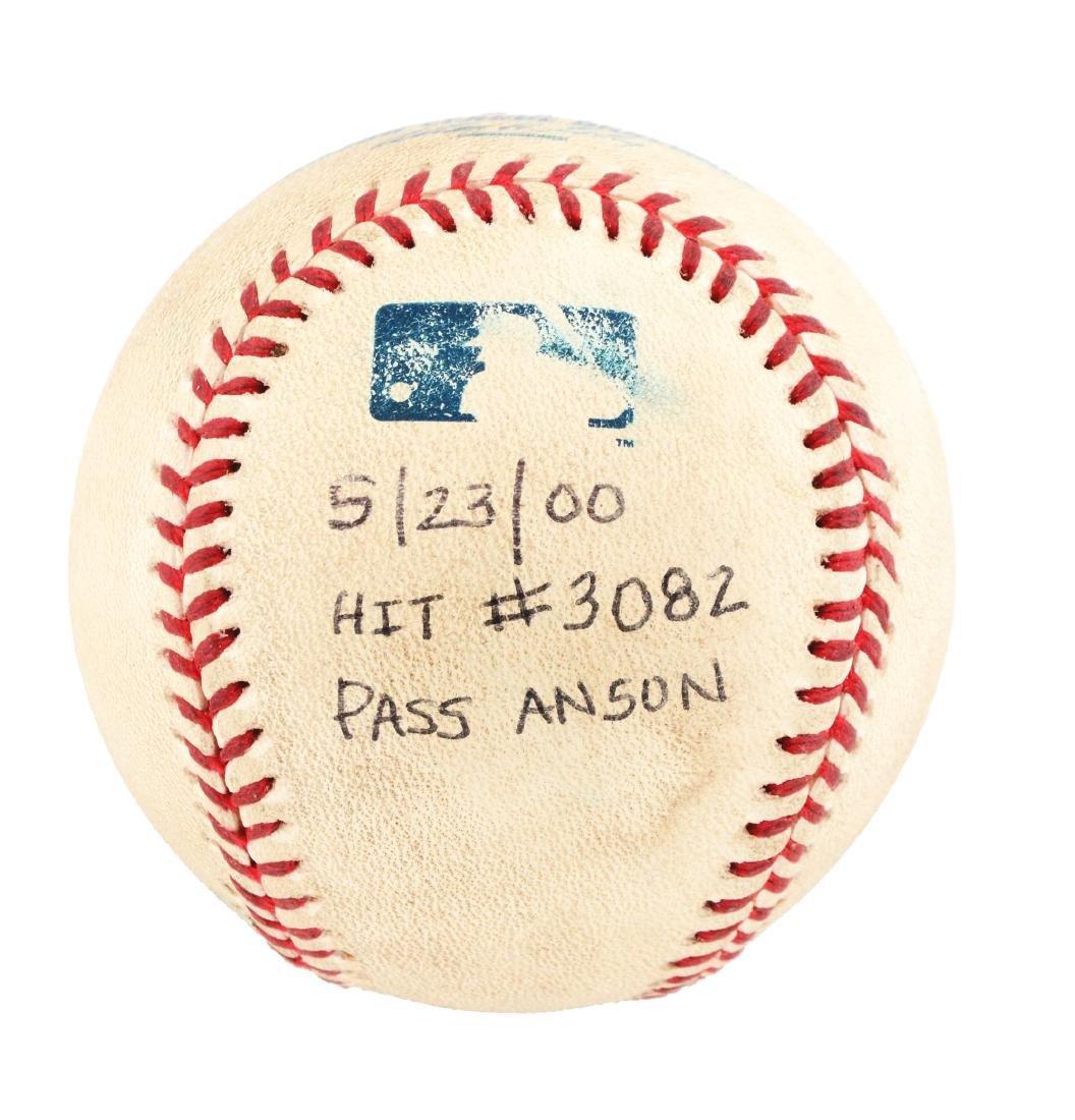 Tony Gwynn Hit #3082 To Pass Cap Anson.