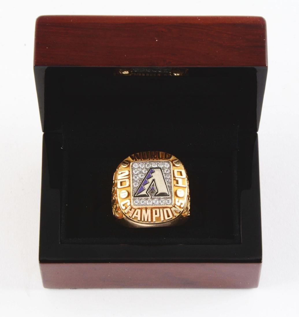 2001 Arizona Diamondbacks World Series Ring. - 8