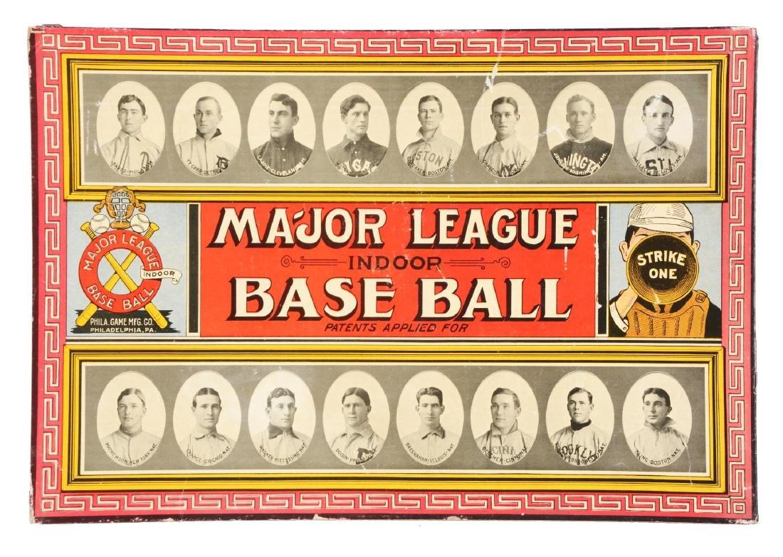 Major League Indoor  Baseball Game Lid With Honus