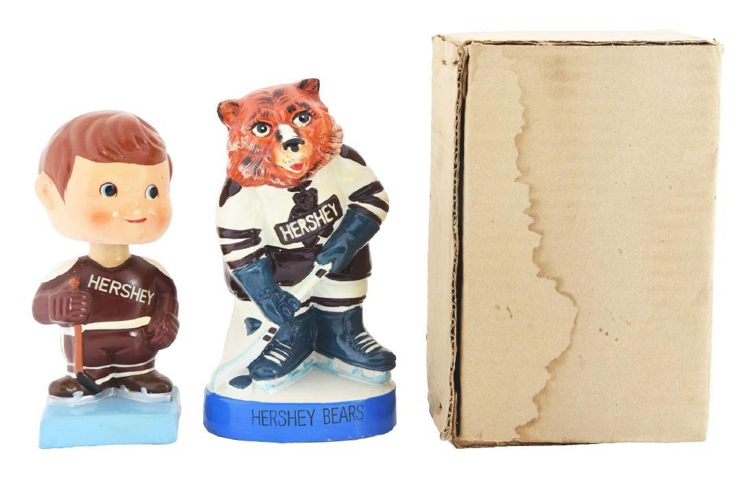 Lot Of 2: 1960-1970 Hershey Bear Hockey Items.