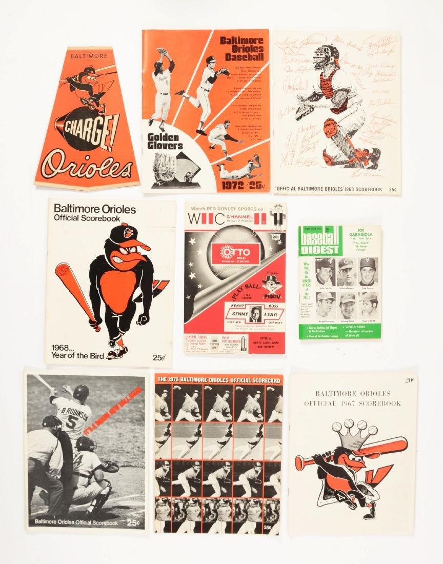 Lot of 75+: Vintage National League & Farm Team Score
