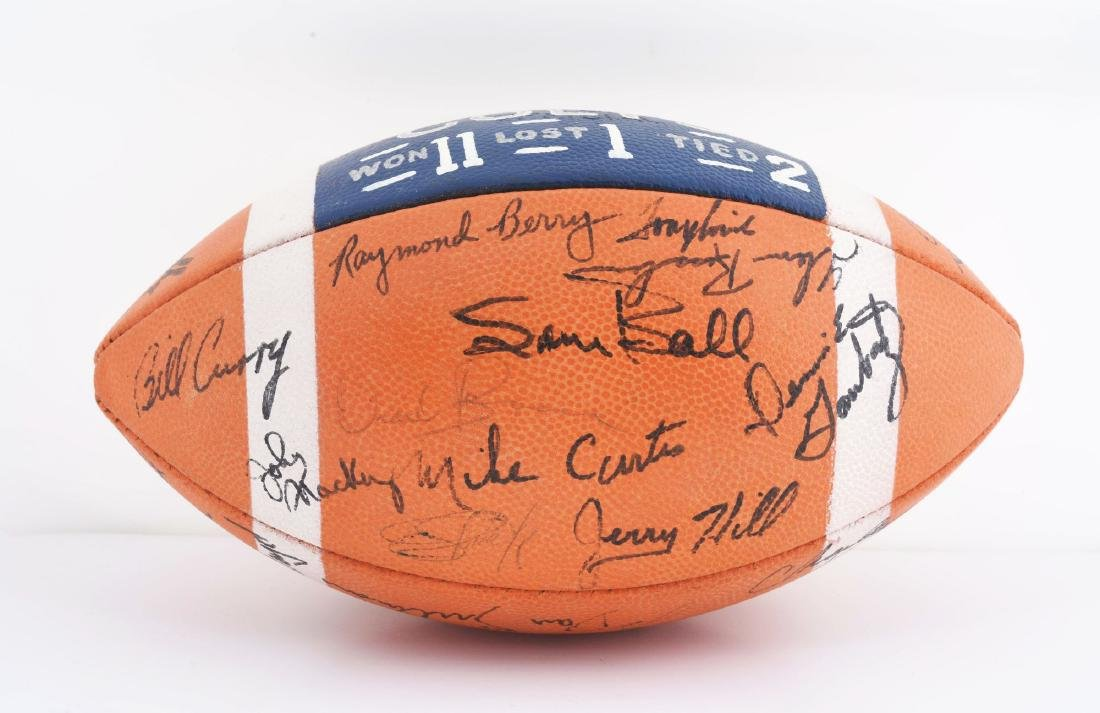 1967 Baltimore Colts Team Signed Ball. - 2