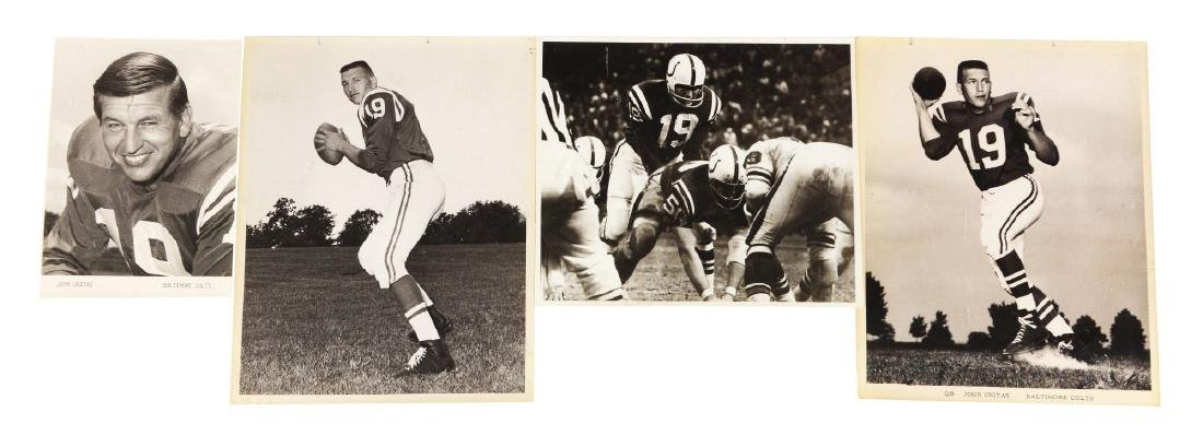 Baltimore Colts Press/Wire Photo Collection Including