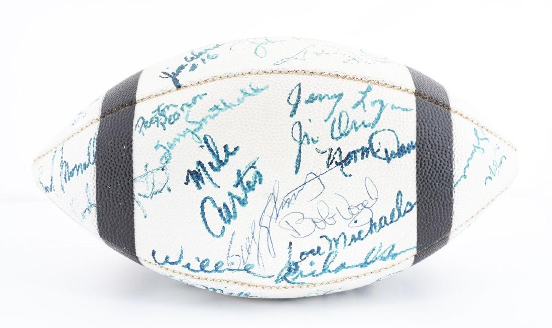 Vintage 1971 Baltimore Colts Team Signed Football. - 4