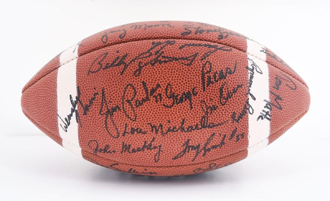 1965 Baltimore Colts Team Signed Football. - 2