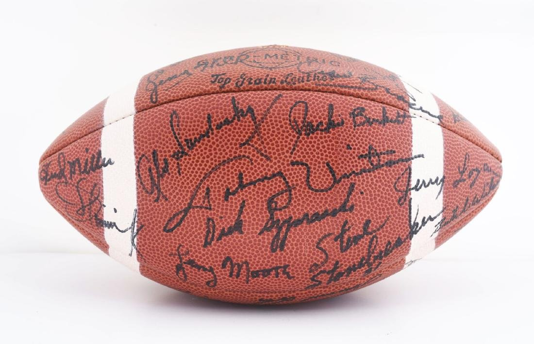 1965 Baltimore Colts Team Signed Football. - 3