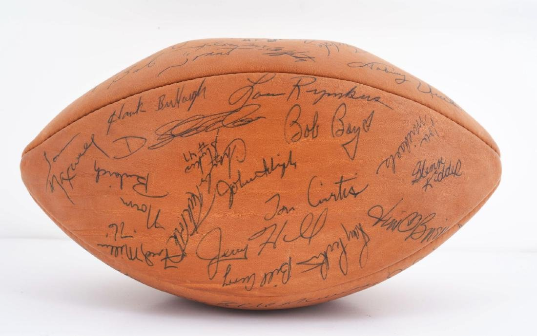 1970 Baltimore Colts Team Signed Ball. - 3