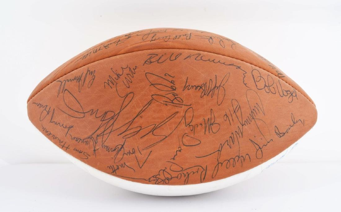 1970 Baltimore Colts Team Signed Ball. - 4