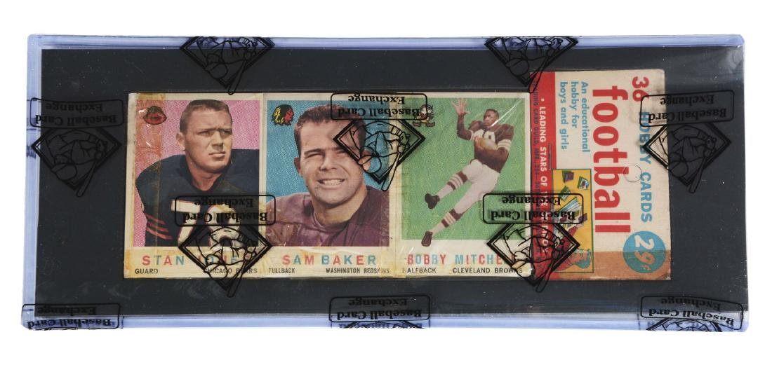 1959 Topps Football 2nd Series Rack Pack (BBCE).