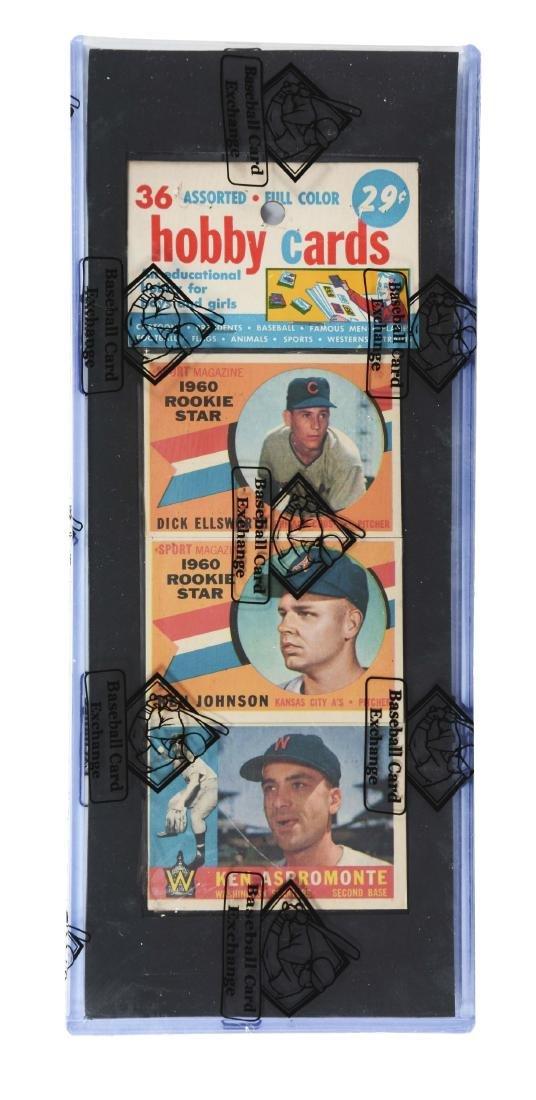 1960 Topps Baseball Rack Pack Second Series Yastrzemski