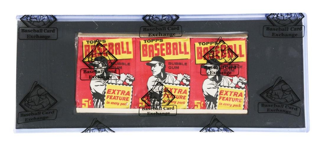 1961 Topps Baseball Unopened Grocery Tray(BBCE).