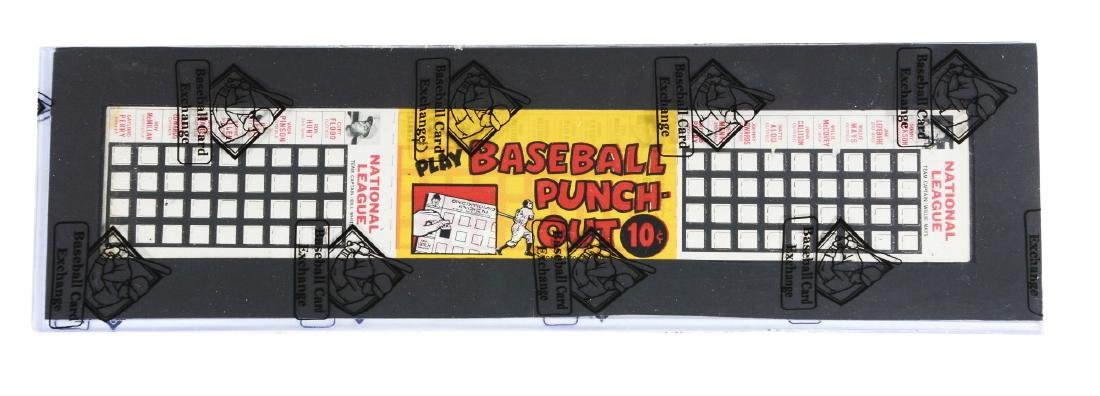 1967 Topps Punch-Out Unopened Pack with Willie Mays
