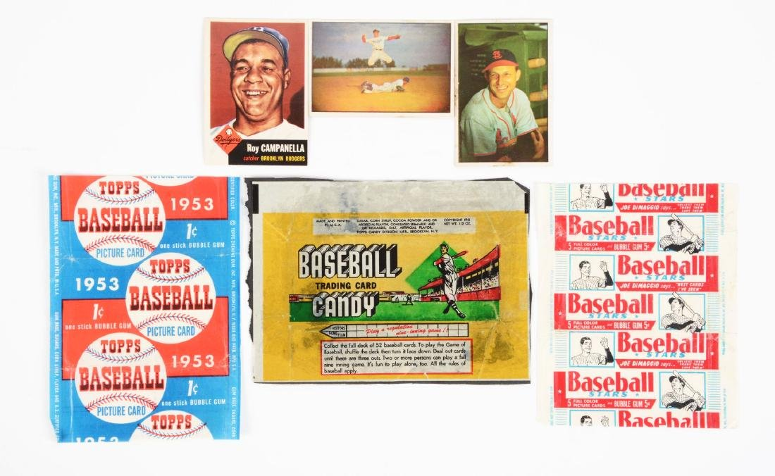 1951 - 1955 Topps and Bowman Baseball Archive.