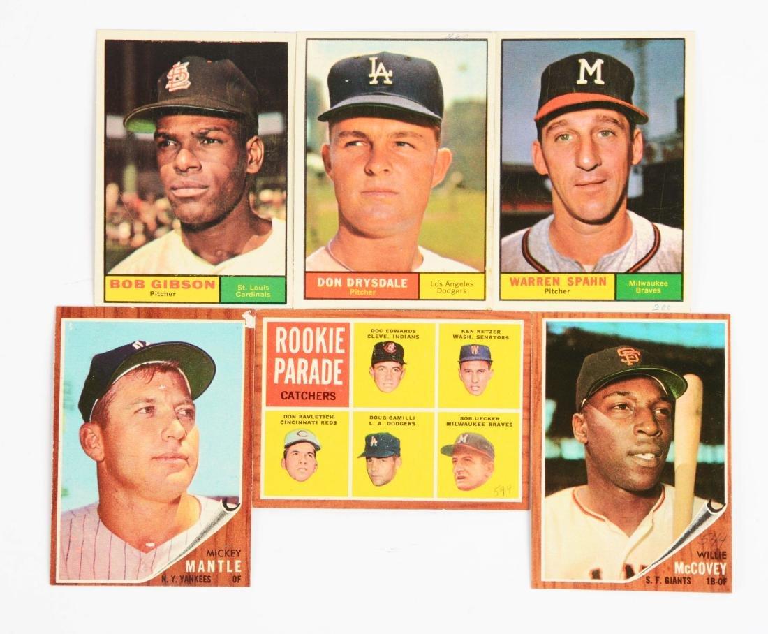 1960-1962 Topps Baseball Archive.