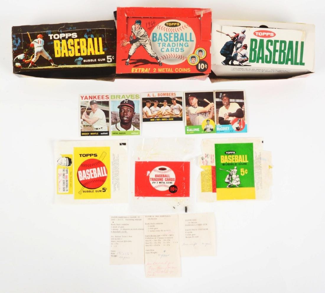 1963-1964 Topps Baseball Archive.