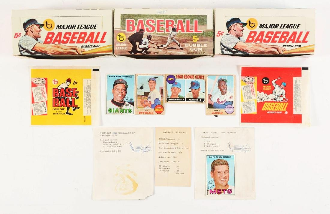 1967-1968 Topps Baseball Archive Collection.