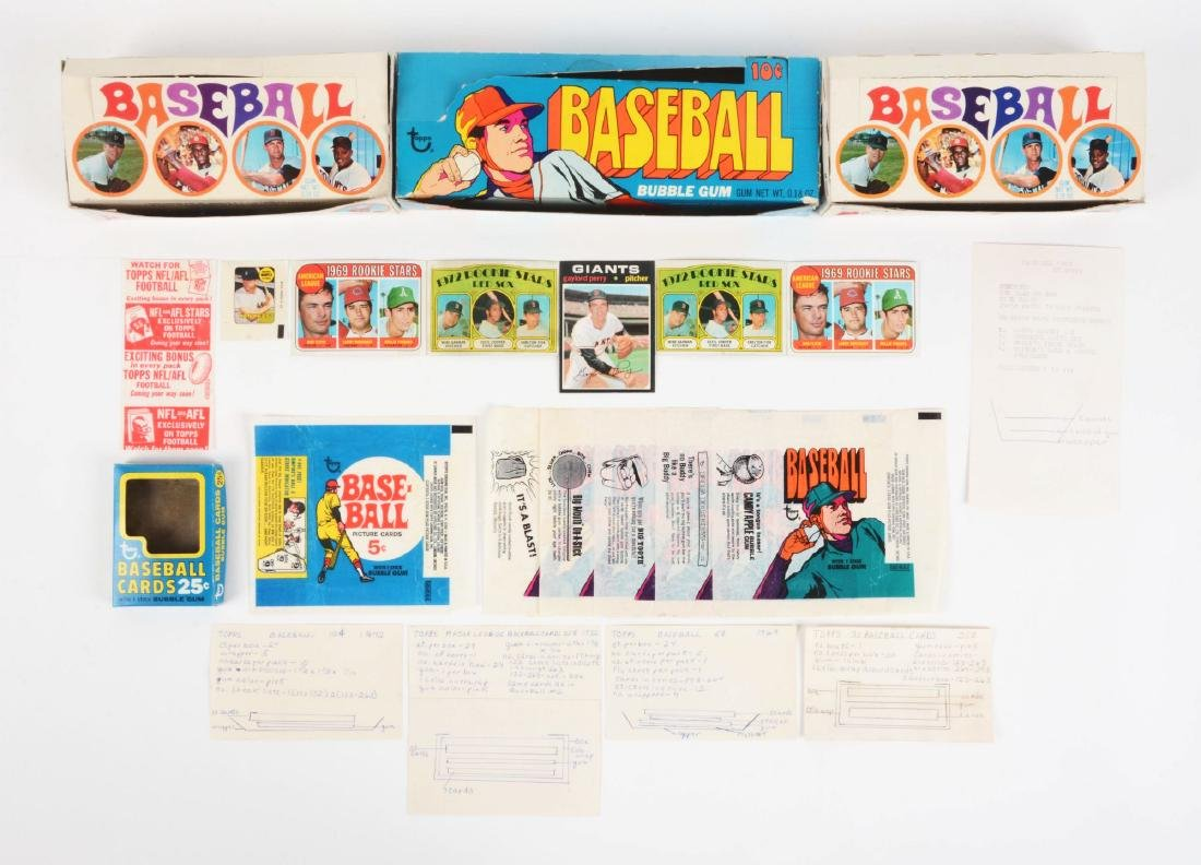 1969-1972 Topps Baseball Archive Collection.