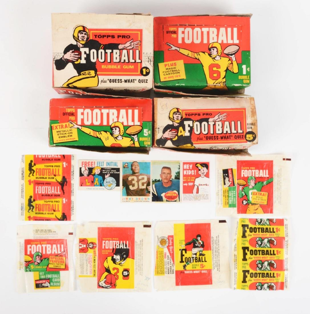 1958-1960 Topps Football Archive Collection.
