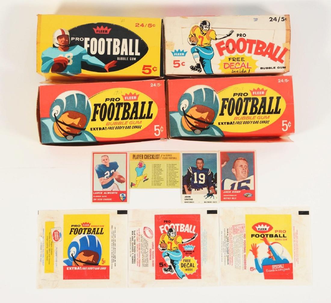 1960-1963 Fleer Football Archive.