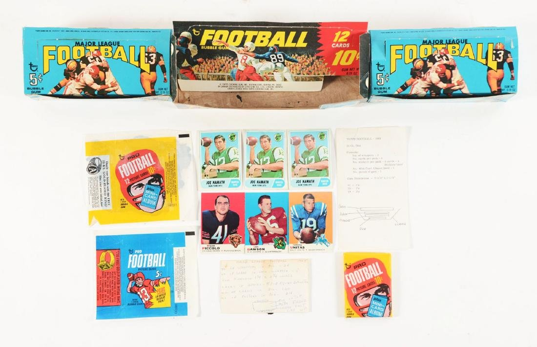 1968-1969 Topps Football Archive Collection.