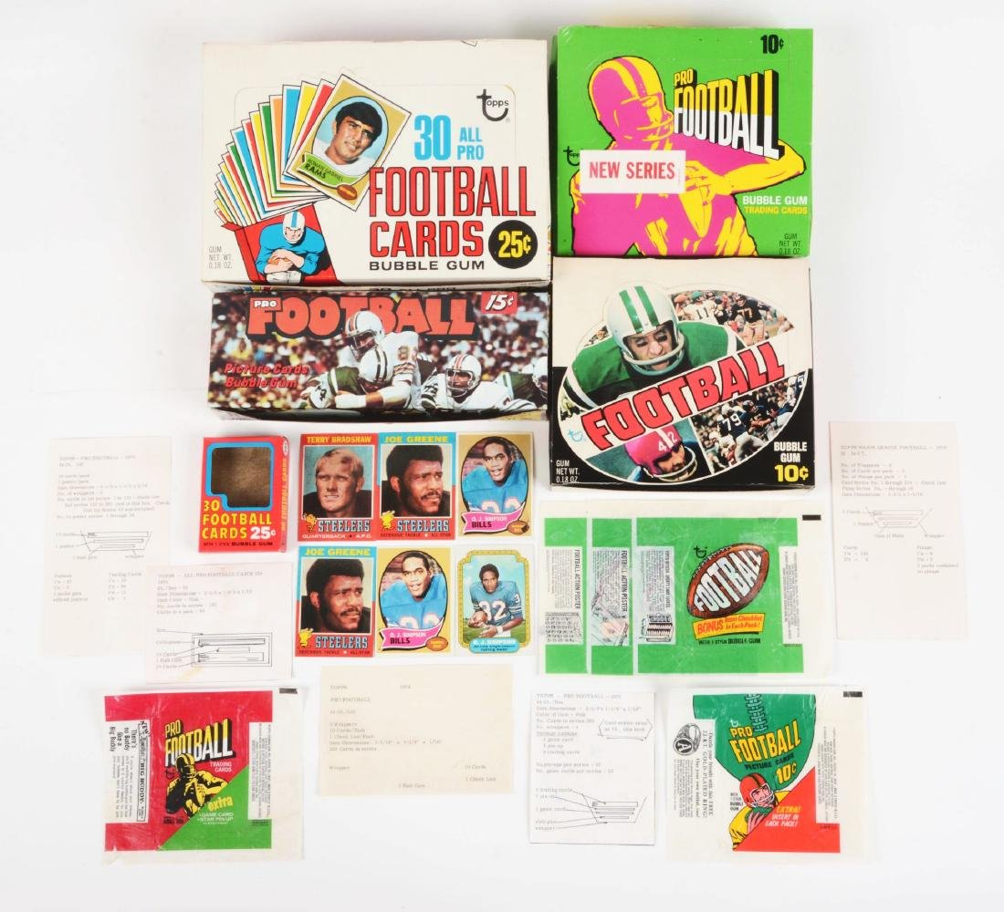 1970-1974 Topps Football Archive Collection.
