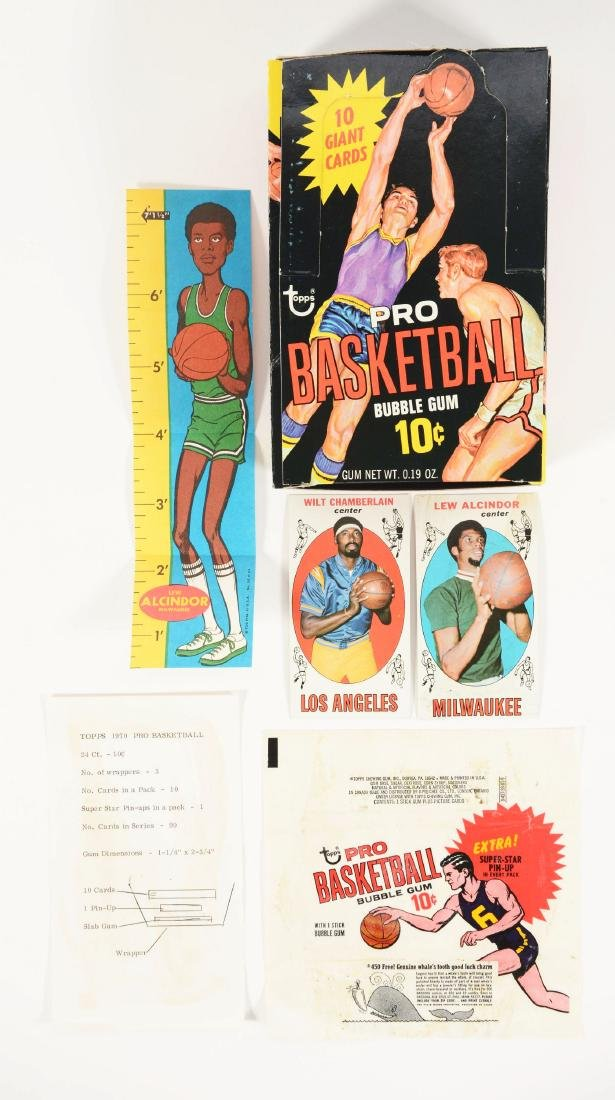 1969 Topps Basketball Archive Collection.