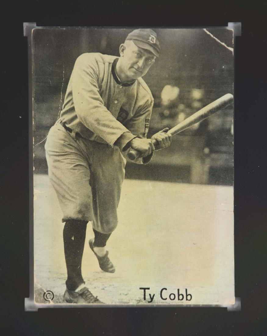 1917-1921 Felix Mendelsohn Ty Cobb Graded SGC - 2