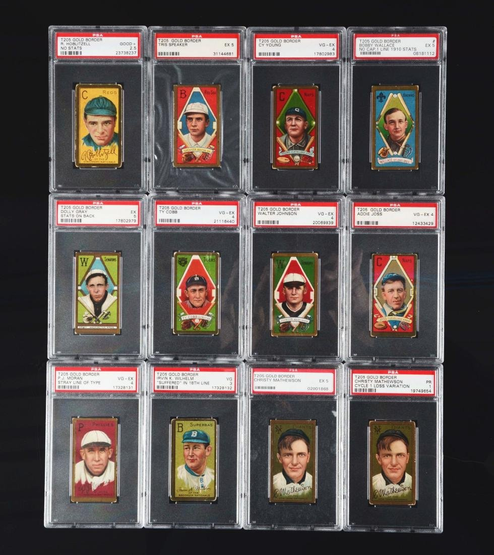 1911 T205 Complete Master Set With All Variations PSA