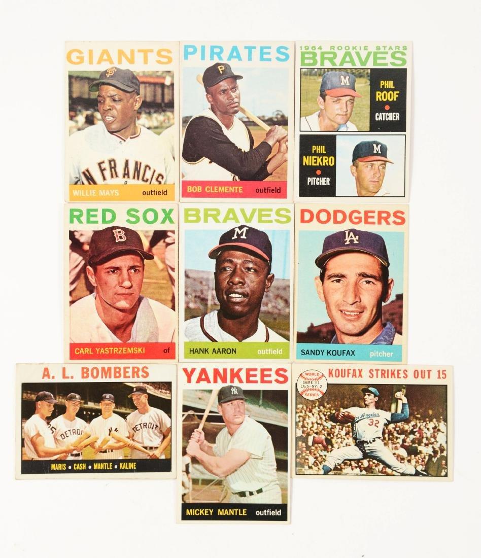 1964 Topps Baseball Complete Set.