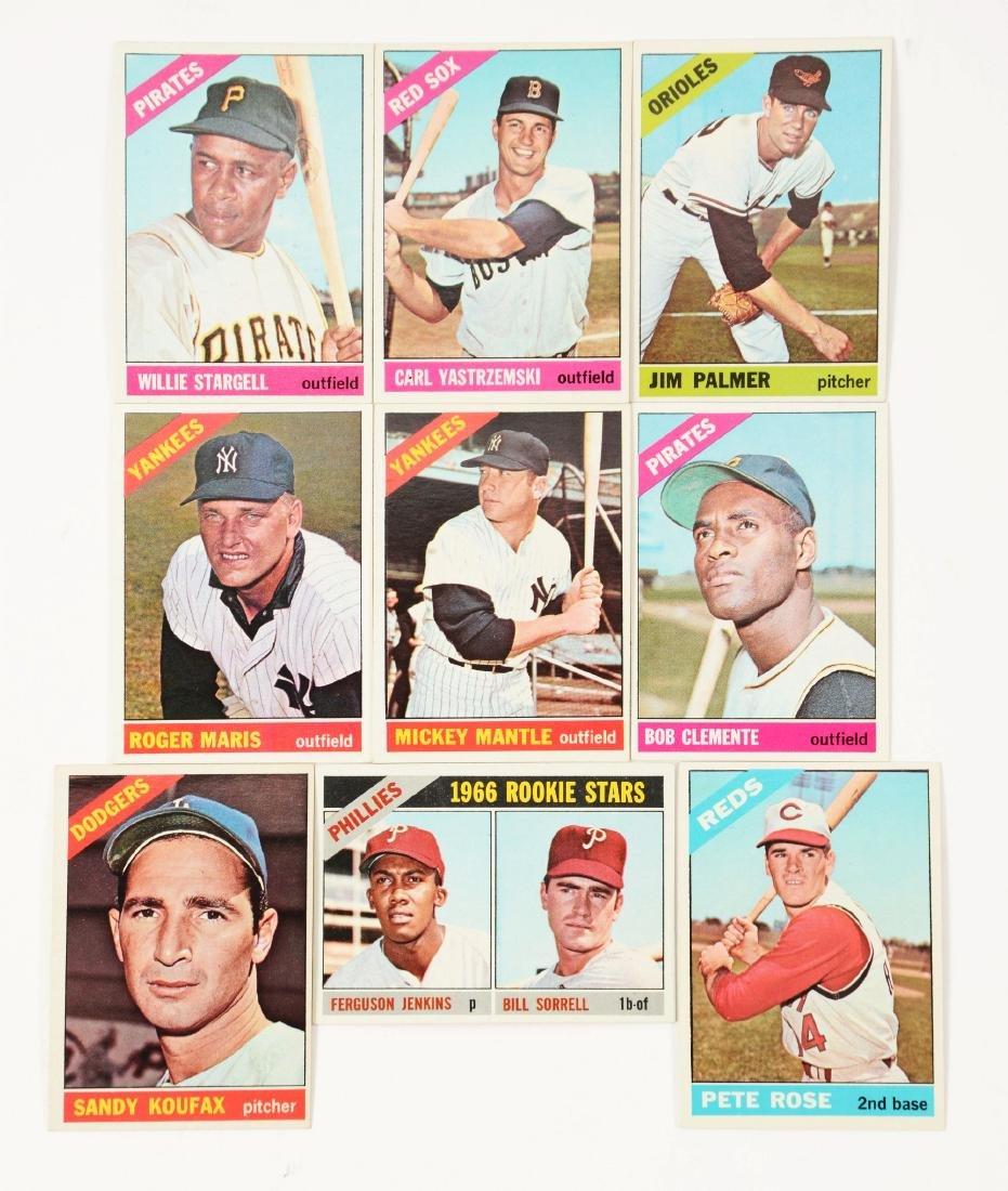 1966 Topps Near Complete Set (591/598).