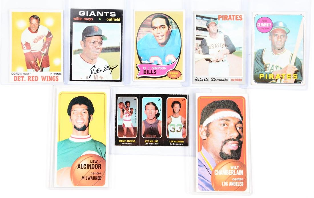 Extra Large 1966-1972 Single Owner Collection of Sports