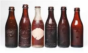 Lot Of 6: Early Coca - Cola & Koca Nola Bottles.