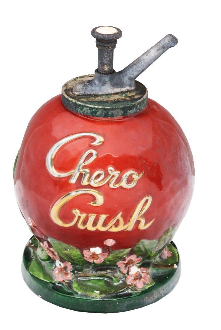 Chero Crush Syrup Dispenser.