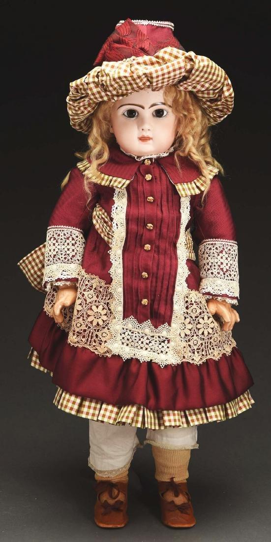 Attractive Tete Jumeau Child.