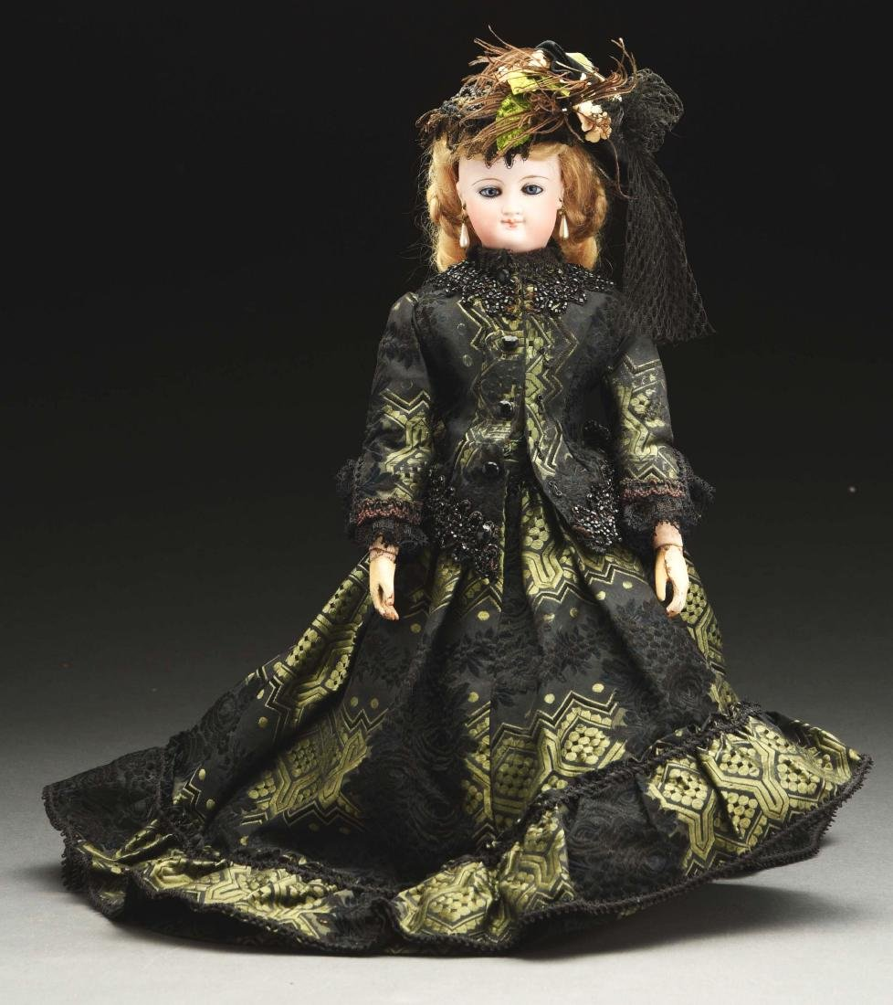 Bru Fashion Doll with Wooden Arms.