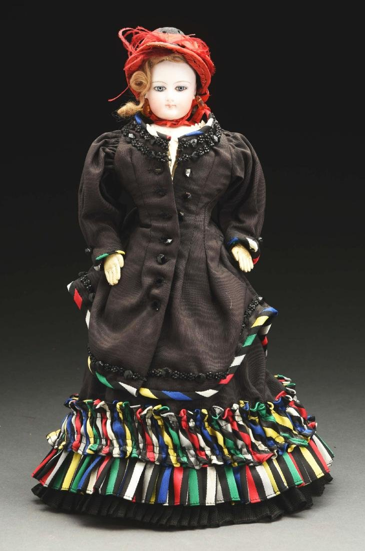 """14"""" Fashion Doll Attributed to F.G.."""