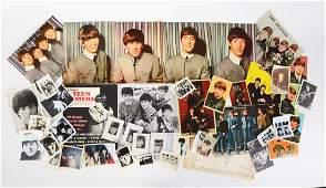 Nice Lot of Vintage Beatles Memorabilia.