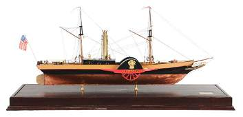 Well Crafted Nightingale Paddle Boat Model