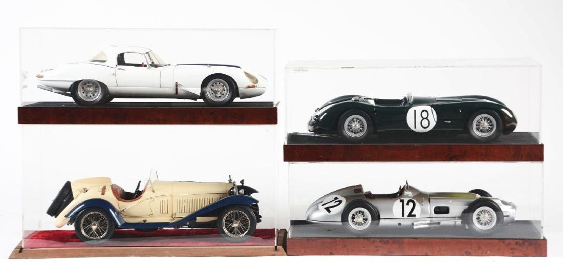 Lot Of 4: Die-Cast Race Cars.