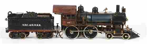 Live Steam 440 Steam Locomotive and Tender.